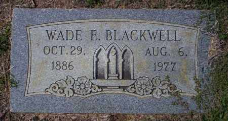 BLACKWELL, WADE E - Columbia County, Arkansas | WADE E BLACKWELL - Arkansas Gravestone Photos