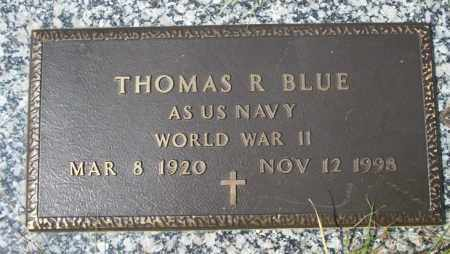 BLUE (VETERAN WWII ), THOMAS R - Columbia County, Arkansas | THOMAS R BLUE (VETERAN WWII ) - Arkansas Gravestone Photos