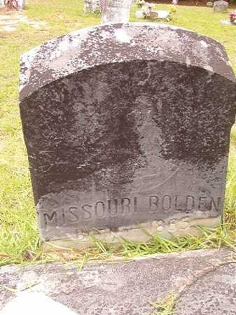 BOLDEN, MISSOURI - Columbia County, Arkansas | MISSOURI BOLDEN - Arkansas Gravestone Photos