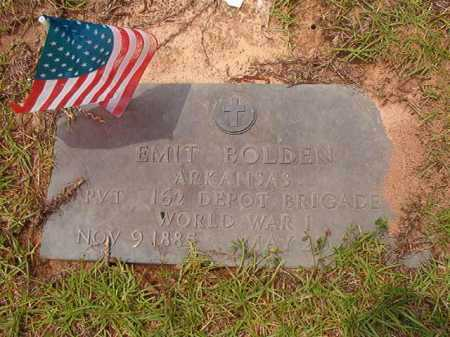 BOLDEN (VETERAN WWI), EMIT - Columbia County, Arkansas | EMIT BOLDEN (VETERAN WWI) - Arkansas Gravestone Photos