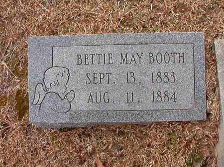 BOOTH, BETTIE MAY - Columbia County, Arkansas | BETTIE MAY BOOTH - Arkansas Gravestone Photos
