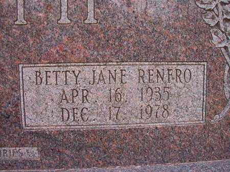 RENFRO BOOTH, BETTY JANE - Columbia County, Arkansas | BETTY JANE RENFRO BOOTH - Arkansas Gravestone Photos