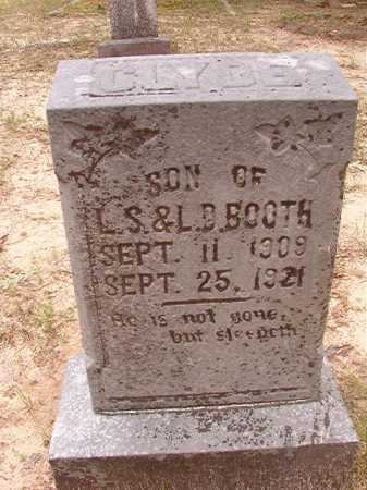 BOOTH, CLYDE - Columbia County, Arkansas | CLYDE BOOTH - Arkansas Gravestone Photos