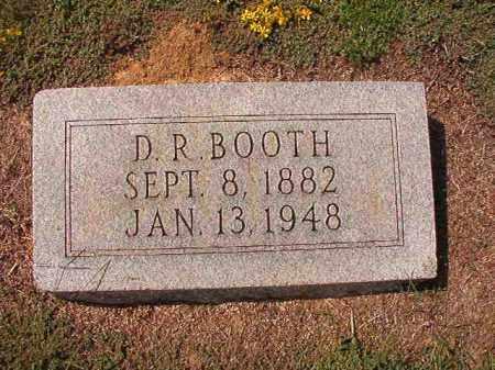 BOOTH, D R - Columbia County, Arkansas | D R BOOTH - Arkansas Gravestone Photos
