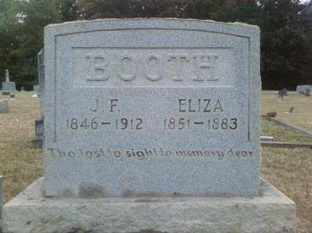 BOOTH, ELIZA - Columbia County, Arkansas | ELIZA BOOTH - Arkansas Gravestone Photos