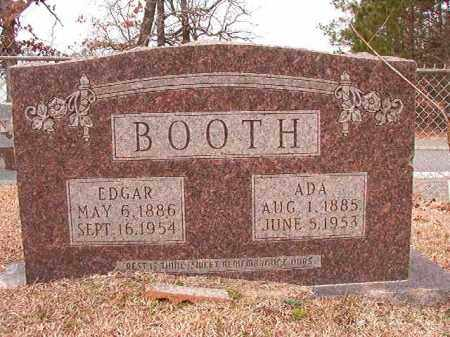 BOOTH, EDGAR - Columbia County, Arkansas | EDGAR BOOTH - Arkansas Gravestone Photos