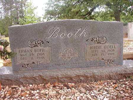 O'DELL BOOTH, BIRDIE - Columbia County, Arkansas | BIRDIE O'DELL BOOTH - Arkansas Gravestone Photos