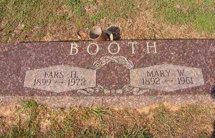 BOOTH, MARY W - Columbia County, Arkansas | MARY W BOOTH - Arkansas Gravestone Photos