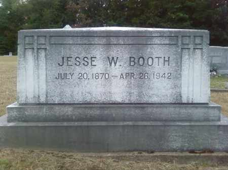 BOOTH, JESSE W - Columbia County, Arkansas | JESSE W BOOTH - Arkansas Gravestone Photos