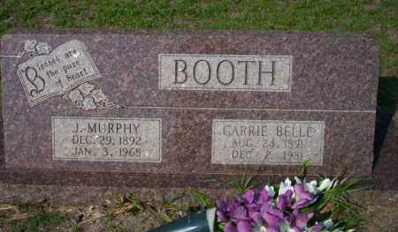 BOOTH, J. MURPHY - Columbia County, Arkansas | J. MURPHY BOOTH - Arkansas Gravestone Photos