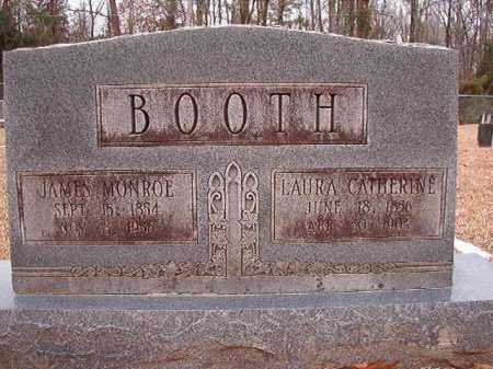 BOOTH, JAMES MONROE - Columbia County, Arkansas | JAMES MONROE BOOTH - Arkansas Gravestone Photos