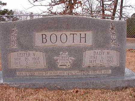 BOOTH, LESTER V - Columbia County, Arkansas | LESTER V BOOTH - Arkansas Gravestone Photos