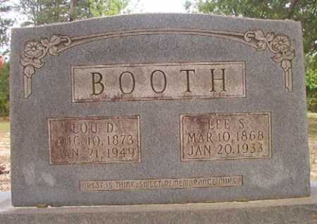 BOOTH, LOU D - Columbia County, Arkansas | LOU D BOOTH - Arkansas Gravestone Photos