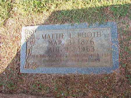 BOOTH, MATTIE L - Columbia County, Arkansas | MATTIE L BOOTH - Arkansas Gravestone Photos