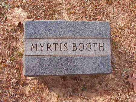 BOOTH, MYRTIS - Columbia County, Arkansas | MYRTIS BOOTH - Arkansas Gravestone Photos