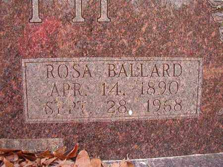 BALLARD BOOTH, ROSA - Columbia County, Arkansas | ROSA BALLARD BOOTH - Arkansas Gravestone Photos