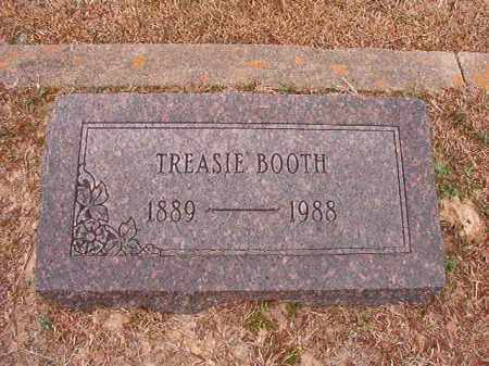 BOOTH, TREASIE - Columbia County, Arkansas | TREASIE BOOTH - Arkansas Gravestone Photos
