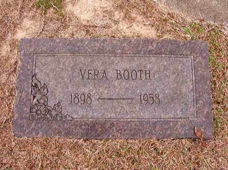 BOOTH, VERA - Columbia County, Arkansas | VERA BOOTH - Arkansas Gravestone Photos