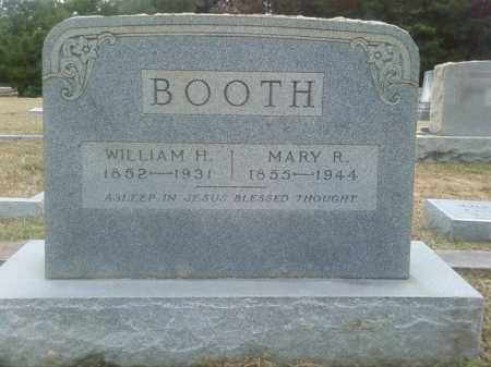 BOOTH, WILLIAM HILL - Columbia County, Arkansas | WILLIAM HILL BOOTH - Arkansas Gravestone Photos