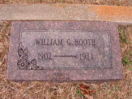BOOTH, WILLIAM G - Columbia County, Arkansas | WILLIAM G BOOTH - Arkansas Gravestone Photos