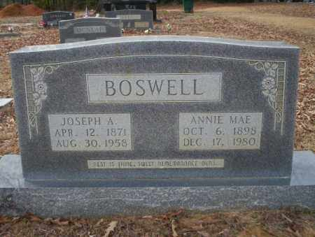 BOSWELL, JOSEPH A - Columbia County, Arkansas | JOSEPH A BOSWELL - Arkansas Gravestone Photos