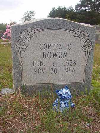 BOWEN, CORTEZ C - Columbia County, Arkansas | CORTEZ C BOWEN - Arkansas Gravestone Photos