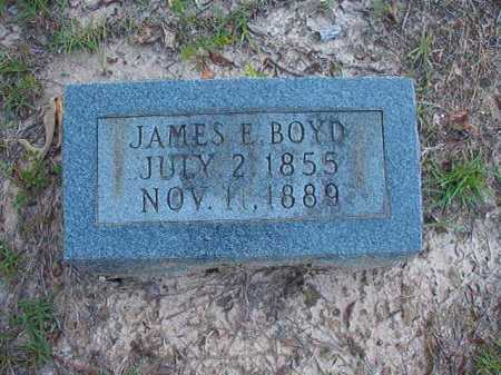BOYD, JAMES E - Columbia County, Arkansas | JAMES E BOYD - Arkansas Gravestone Photos