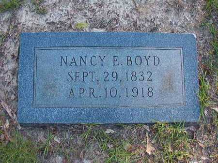 BOYD, NANCY E - Columbia County, Arkansas | NANCY E BOYD - Arkansas Gravestone Photos