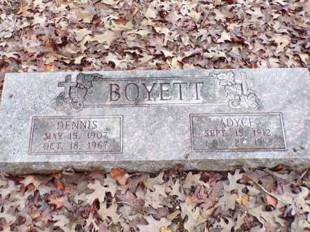 BOYETT, ADYCE - Columbia County, Arkansas | ADYCE BOYETT - Arkansas Gravestone Photos