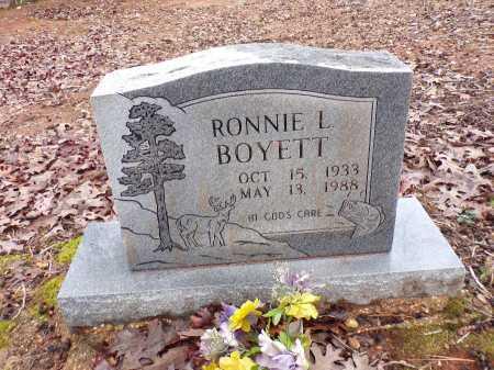 BOYETT, RONNIE L - Columbia County, Arkansas | RONNIE L BOYETT - Arkansas Gravestone Photos