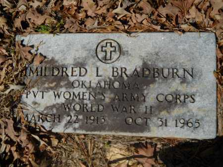 BRADBURN (VETERAN WWII), MILDRED - Columbia County, Arkansas | MILDRED BRADBURN (VETERAN WWII) - Arkansas Gravestone Photos