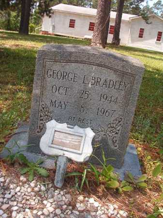 BRADLEY, GEORGE L - Columbia County, Arkansas | GEORGE L BRADLEY - Arkansas Gravestone Photos