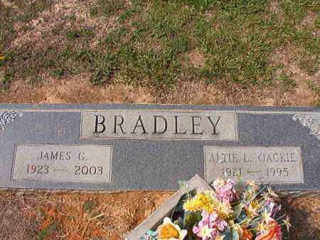 BRADLEY, ALTIE L (JACKIE) - Columbia County, Arkansas | ALTIE L (JACKIE) BRADLEY - Arkansas Gravestone Photos