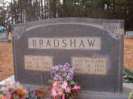 BUTCHER BRADSHAW, LOIS - Columbia County, Arkansas | LOIS BUTCHER BRADSHAW - Arkansas Gravestone Photos