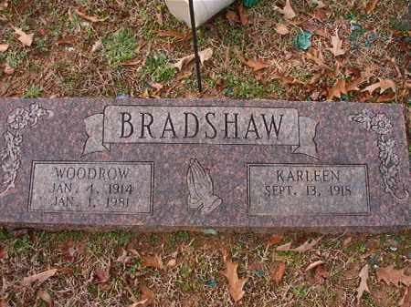 BRADSHAW, WOODROW - Columbia County, Arkansas | WOODROW BRADSHAW - Arkansas Gravestone Photos