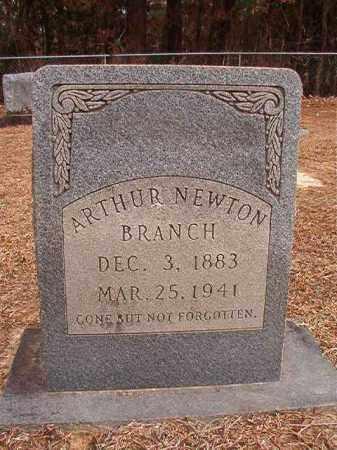 BRANCH, ARTHUR NEWTON - Columbia County, Arkansas | ARTHUR NEWTON BRANCH - Arkansas Gravestone Photos