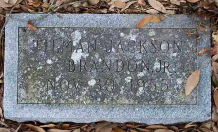 BRANDON JR., TILMAN JACKSON - Columbia County, Arkansas | TILMAN JACKSON BRANDON JR. - Arkansas Gravestone Photos