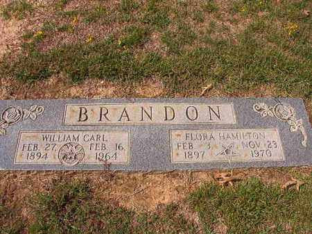 BRANDON, FLORA HAMILTON - Columbia County, Arkansas | FLORA HAMILTON BRANDON - Arkansas Gravestone Photos