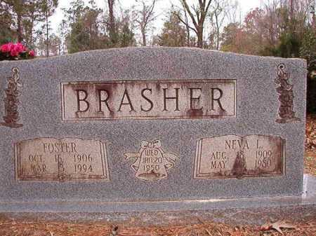 BRASHER, FOSTER - Columbia County, Arkansas | FOSTER BRASHER - Arkansas Gravestone Photos