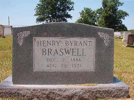 BRASWELL, HENRY BRYANT - Columbia County, Arkansas | HENRY BRYANT BRASWELL - Arkansas Gravestone Photos