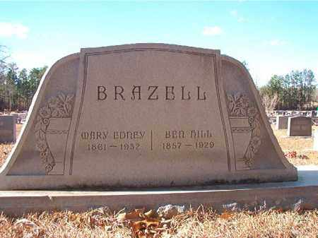 BRAZELL, MARY EDNEY - Columbia County, Arkansas | MARY EDNEY BRAZELL - Arkansas Gravestone Photos