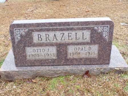 BRAZELL, OTTO J - Columbia County, Arkansas | OTTO J BRAZELL - Arkansas Gravestone Photos