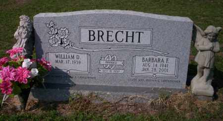 BRECHT, BARBARA F - Columbia County, Arkansas | BARBARA F BRECHT - Arkansas Gravestone Photos