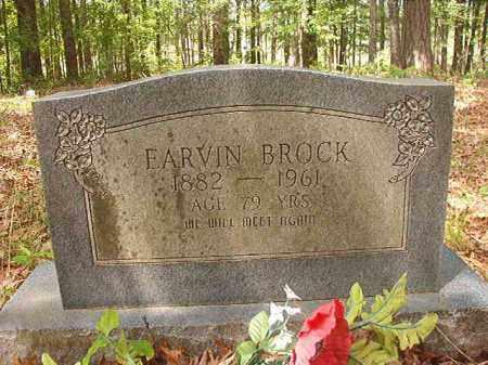 BROCK, EARVIN - Columbia County, Arkansas | EARVIN BROCK - Arkansas Gravestone Photos