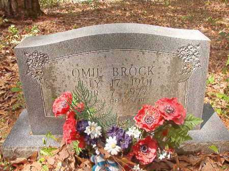 BROCK, OMIE - Columbia County, Arkansas | OMIE BROCK - Arkansas Gravestone Photos