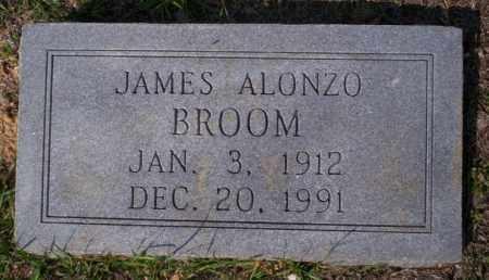 BROOM, JAMES ALONZO - Columbia County, Arkansas | JAMES ALONZO BROOM - Arkansas Gravestone Photos