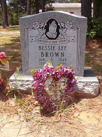 BROWN, BESSIE LEE - Columbia County, Arkansas | BESSIE LEE BROWN - Arkansas Gravestone Photos