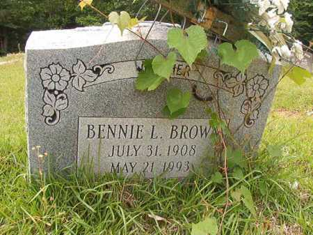 BROWN, BENNIE L - Columbia County, Arkansas | BENNIE L BROWN - Arkansas Gravestone Photos