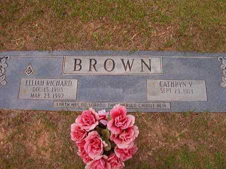 BROWN, ELIJAH RICHARD - Columbia County, Arkansas | ELIJAH RICHARD BROWN - Arkansas Gravestone Photos
