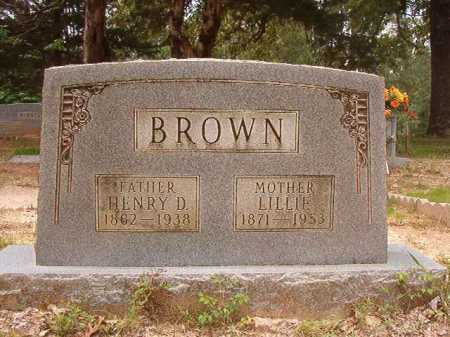 BROWN, LILLIE - Columbia County, Arkansas | LILLIE BROWN - Arkansas Gravestone Photos